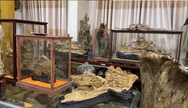 Sở hữu phòng trầm hương trị giá cả trăm tỷ đồng thế này nhưng NS Hoài Linh vẫn bị tố nợ tiền gỗ - Ảnh 5.