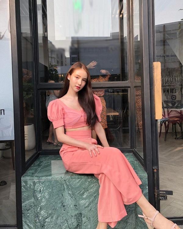 آموزش چگونگی پوشیدن شلوار پا کاملاً زیبا و گسترده از انجمن دختران تایلند - عکس 11.