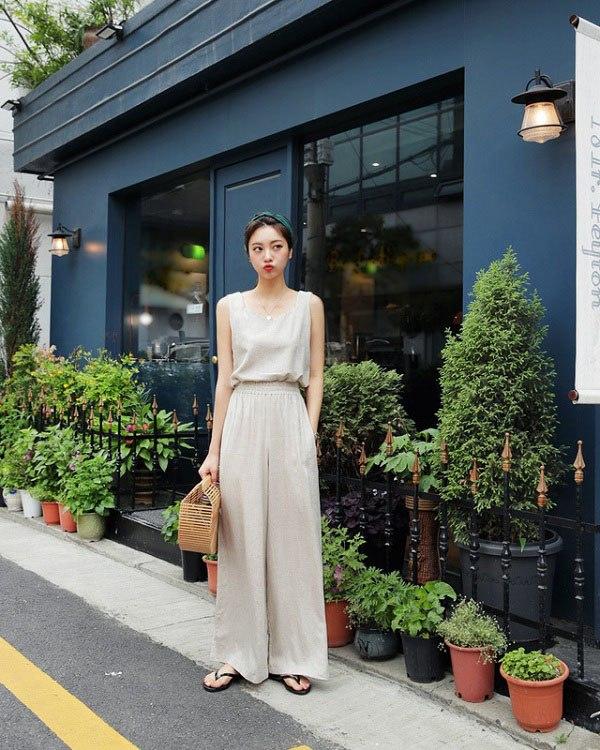 بیاموزید که چگونه شلوارهای پهن فوق العاده زیبای انجمن دختران تایلند را بپوشید - عکس 13.