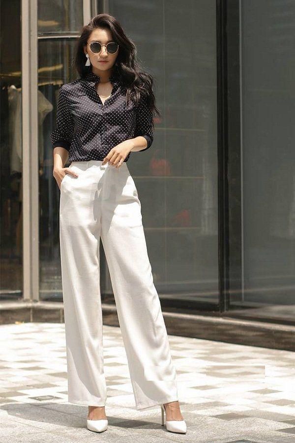 بیاموزید که چگونه شلوارهای پهن فوق العاده زیبای انجمن دختران تایلند را بپوشید - عکس 14.