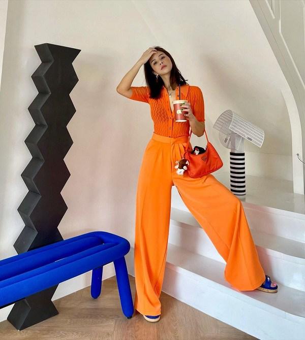 بیاموزید که چگونه شلوارهای پهن فوق العاده زیبای انجمن دختران تایلند را بپوشید - عکس 8.