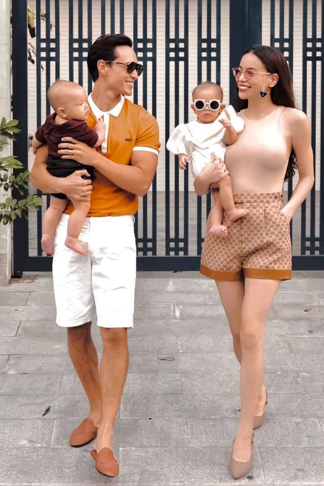 Cặp song sinh nhà Kim Lý – Hồ Ngọc Hà mới 8 tháng tuổi đã... kiếm được tiền - Ảnh 1.