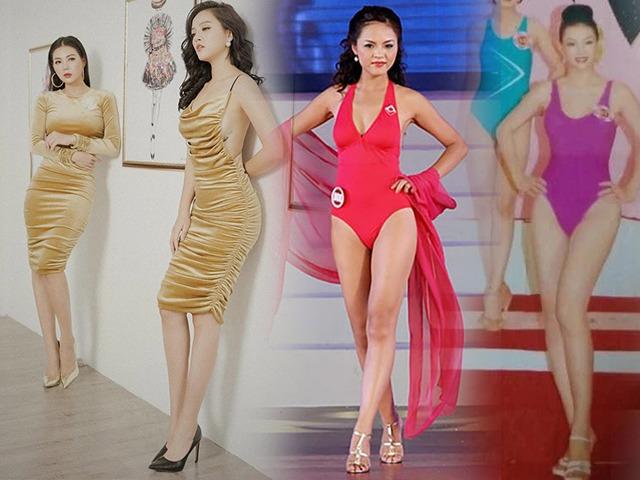 2 mỹ nhân Quỳnh búp bê từng chinh chiến đấu trường hoa hậu: Sắc vóc sau 1 thập kỉ thăng hạng - Ảnh 1.