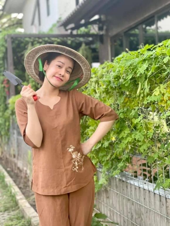 Nhật Kim Anh làm chị nông dân trong ngày giãn cách - Ảnh 5.