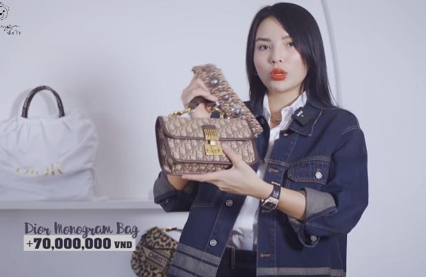 Lóa mắt tủ đồ Dior nửa tỷ của Hoa hậu Kỳ Duyên - Ảnh 1.
