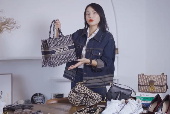 Lóa mắt tủ đồ Dior nửa tỷ của Hoa hậu Kỳ Duyên - Ảnh 12.
