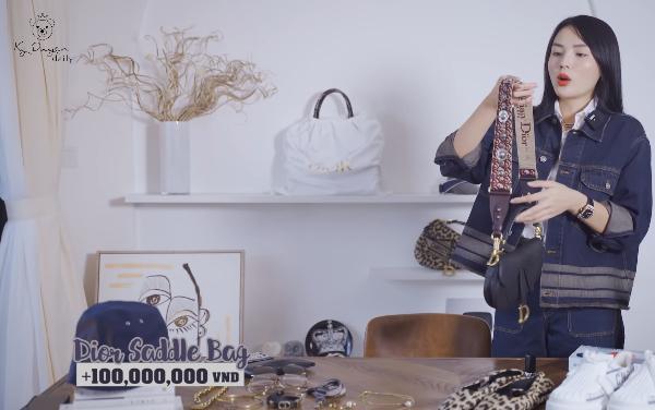 Lóa mắt tủ đồ Dior nửa tỷ của Hoa hậu Kỳ Duyên - Ảnh 7.