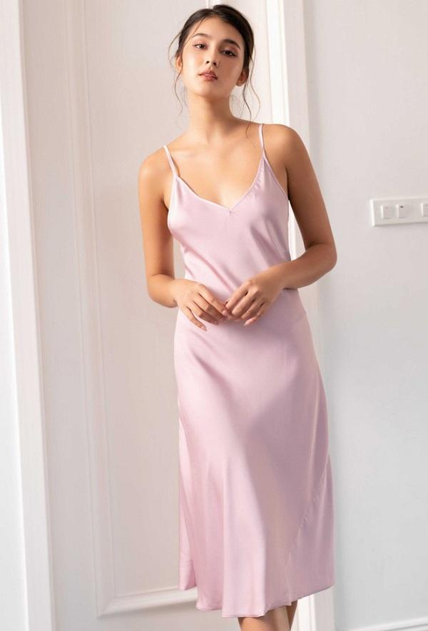 Những kiểu váy mặc nhà nghỉ dịch mát mẻ, thoải mái mà vẫn thời trang khiến nàng thích mê - Ảnh 6.