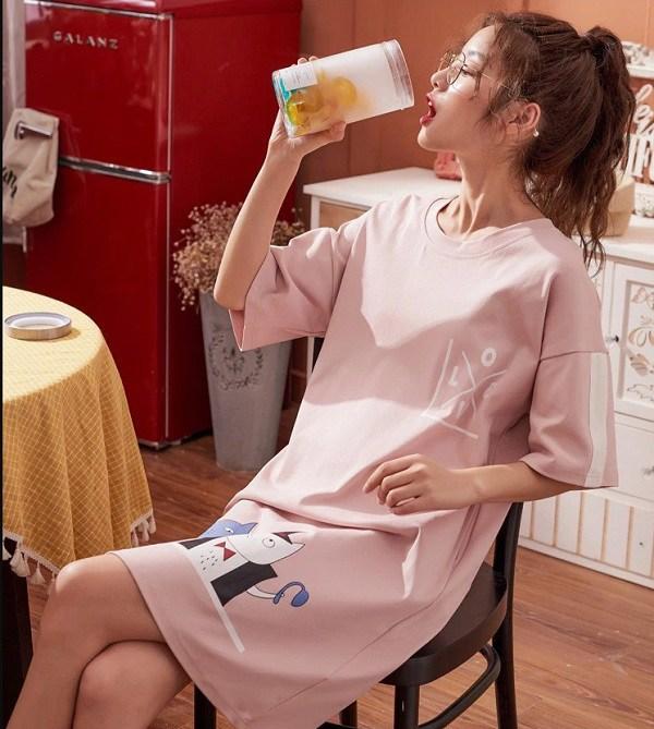 Những kiểu váy mặc nhà nghỉ dịch mát mẻ, thoải mái mà vẫn thời trang khiến nàng thích mê - Ảnh 11.