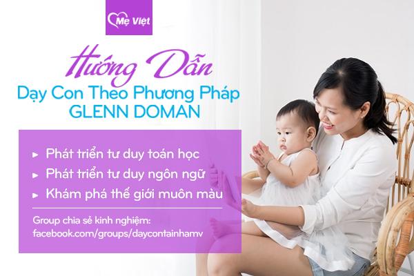 Mẹ Việt – Thương hiệu hướng dẫn phương pháp giáo dục sớm Glenn Doman - Ảnh 2.