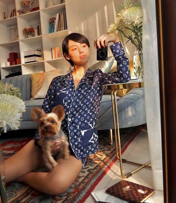 Hà Hồ, Lệ Quyên mặc đồ ngủ pyjama thôi mà nhìn giá phát hoảng - Ảnh 6.