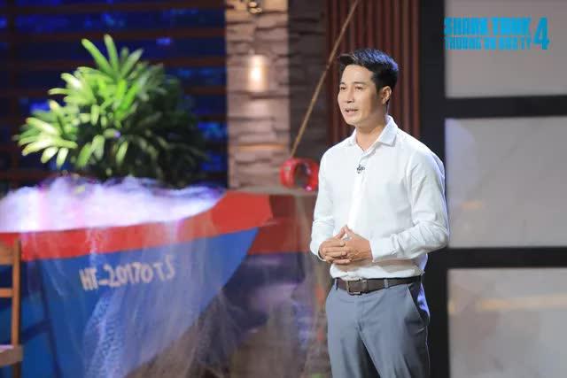 Shark Tank: Quyết chiêu mộ startup Mực nhảy, Shark Liên cạnh tranh với Shark Bình - Ảnh 1.