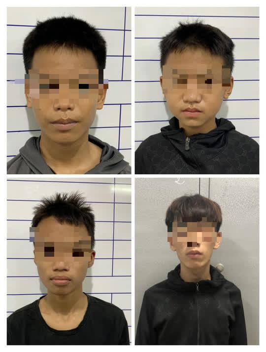 Nhóm thiếu niên trộm xe máy của 2 nữ tình nguyện viên chống dịch Covid-19  - Ảnh 1.