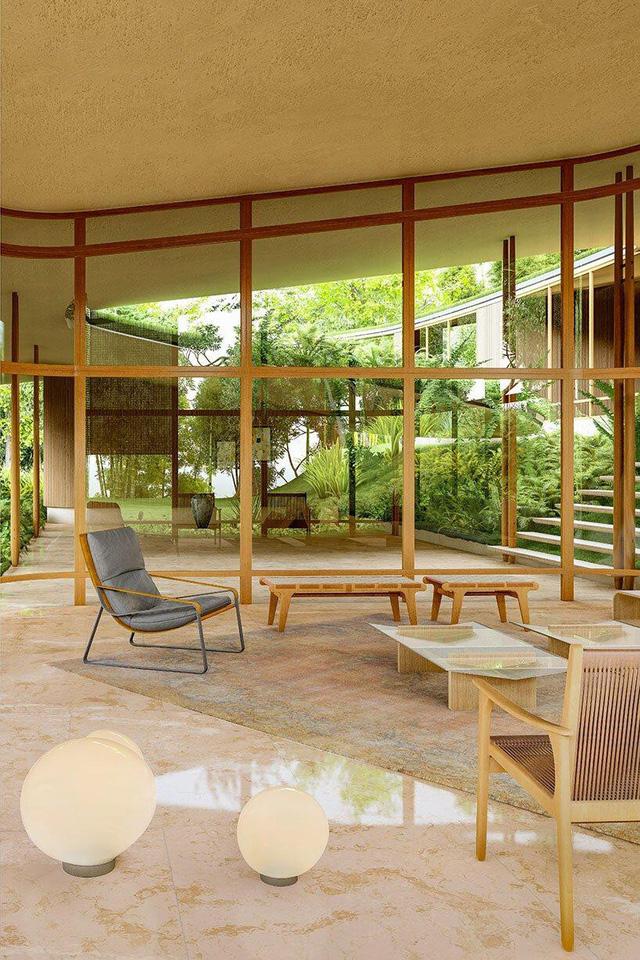 Ngôi nhà 'tàng hình' nhờ dùng thảm cỏ làm mái - Ảnh 2.