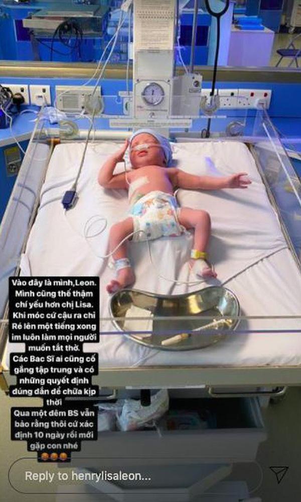 Cặp song sinh Lisa và Leon bị sinh non, Hồ Ngọc Hà khóc ròng thương con - Ảnh 5.