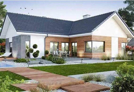 5 kiểu nhà cấp 4 thịnh hành hứa hẹn trở thành xu hướng thiết kế trong năm 2022 - Ảnh 5.