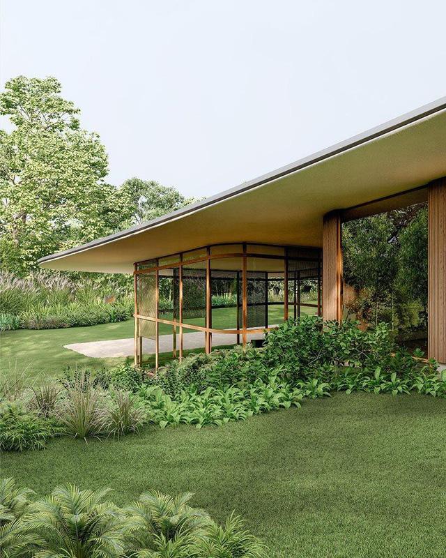 Ngôi nhà 'tàng hình' nhờ dùng thảm cỏ làm mái - Ảnh 5.