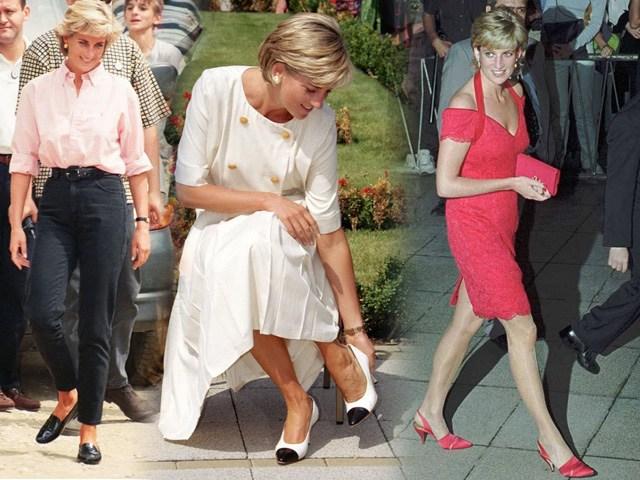 Bất chấp thời gian, 4 kiểu giày từng được Công nương Diana lăng xê đều là mốt bây giờ - Ảnh 1.