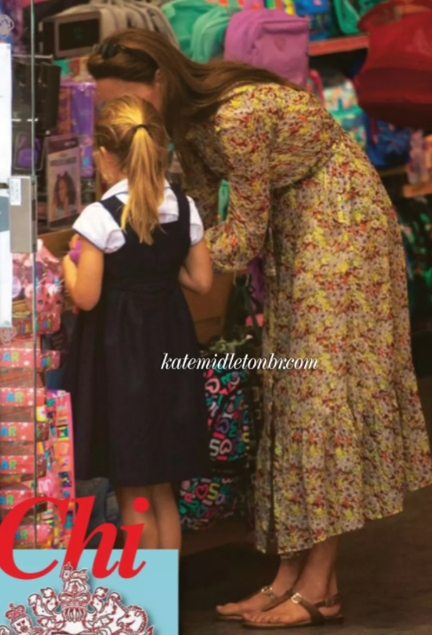 Công nương Kate lộ diện sau 60 ngày mất hút, đưa 2 con đi mua sắm với loạt cử chỉ tinh tế - Ảnh 4.