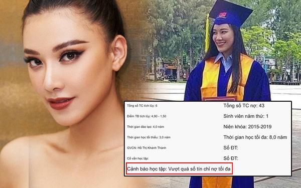 Á hậu Kim Duyên thừa nhận chưa tốt nghiệp ĐH sau khi bị phát hiện thôi học, nợ 43 tín chỉ - Ảnh 2.