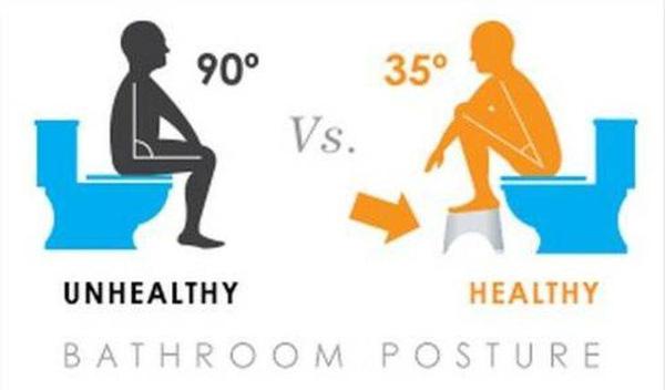 Bạn đang đi vệ sinh theo kiểu ngồi dựa lưng ra đằng sau, chân chạm đất? Bỏ ngay đi nếu không muốn mang bệnh - Ảnh 1.