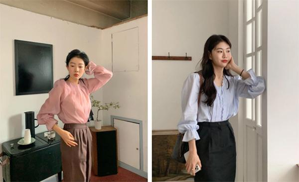Mẫu áo mùa thu đang phủ sóng khắp mạng xã hội, chị em không sắm thì thiệt bao set đồ sang chảnh ngút ngàn - Ảnh 1.