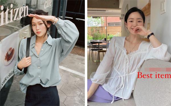 Mẫu áo mùa thu đang phủ sóng khắp mạng xã hội, chị em không sắm thì thiệt bao set đồ sang chảnh ngút ngàn - Ảnh 3.