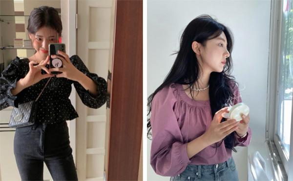 Mẫu áo mùa thu đang phủ sóng khắp mạng xã hội, chị em không sắm thì thiệt bao set đồ sang chảnh ngút ngàn - Ảnh 4.