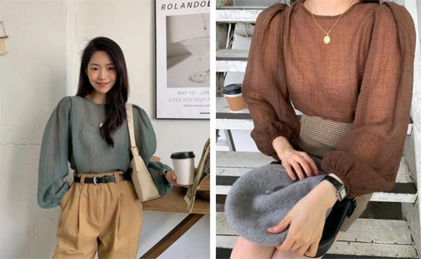 Mẫu áo mùa thu đang phủ sóng khắp mạng xã hội, chị em không sắm thì thiệt bao set đồ sang chảnh ngút ngàn - Ảnh 7.