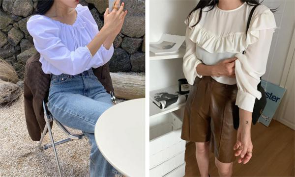 Mẫu áo mùa thu đang phủ sóng khắp mạng xã hội, chị em không sắm thì thiệt bao set đồ sang chảnh ngút ngàn - Ảnh 8.