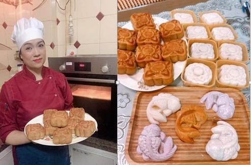 Các mẫu bánh Trung thu nhìn cái muốn mua ăn ngay vì ngon, đẹp và 6 cách ăn để không bị béo - Ảnh 2.