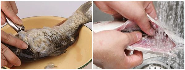 Cách nấu cháo cá chép bổ dưỡng lại không bị tanh cho mẹ bầu - Ảnh 3.