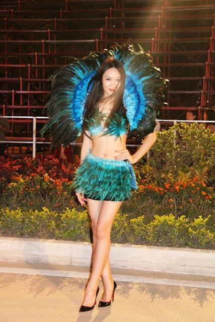 """Hoa hậu Thuỳ Dung và dàn người mẫu """"thiêu cháy"""" khán giả Carnaval Hạ Long 8"""