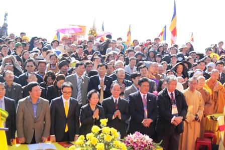 Khánh thành tượng đồng  kỷ lục Việt Nam  1