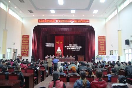 Quảng Ninh: Tạm thời chấp nhận chợ mới và chợ cũ ở huyện Hải Hà cùng hoạt động 1
