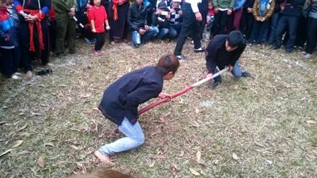 Đặc sắc các trò chơi, môn thể thao dân gian đầu xuân của người Dao 12