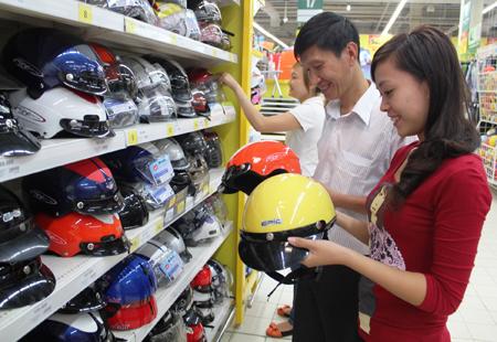 Trợ giá cao khi đổi mũ bảo hiểm 1