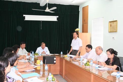Phó Tổng cục trưởng Nguyễn Văn Tân làm việc tại Bình Dương 4
