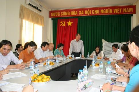 Phó Tổng cục trưởng Nguyễn Văn Tân làm việc tại Bình Dương 1