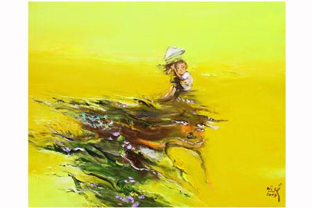 Thương nhớ đồng quê trong tranh Nguyễn Văn Cường 6
