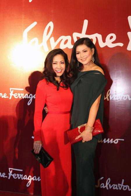 Mẹ chồng Tăng Thanh Hà đẹp nổi bật giữa dàn sao ở Hà Nội 5