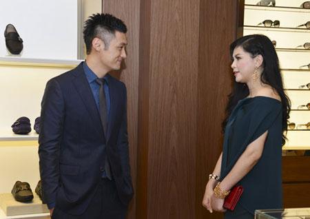 Mẹ chồng Tăng Thanh Hà đẹp nổi bật giữa dàn sao ở Hà Nội 3