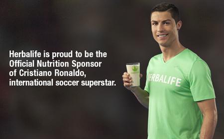 Herbalife - Nhà tài trợ dinh dưỡng chính thức cho ngôi sao bóng đá Cristiano Ronaldo 1