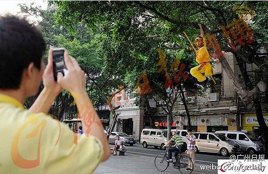 Tận mắt chứng kiến Tôn Ngộ Không đại náo trên phố Trung Quốc 5