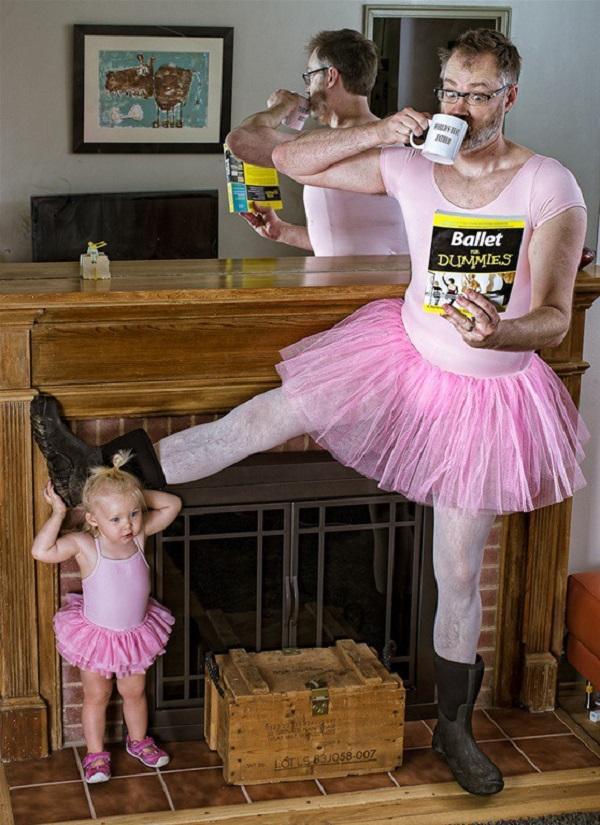 Những bức ảnh cha và con gái nhỏ cực đáng yêu 1