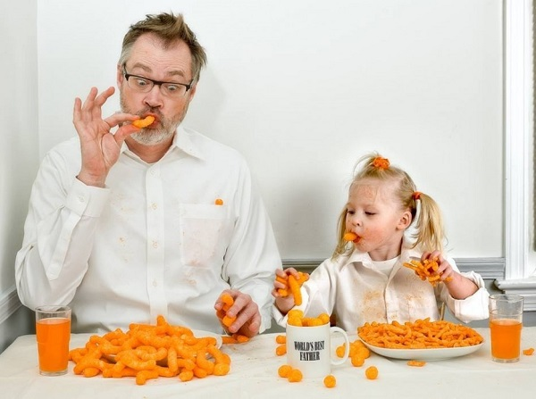 Những bức ảnh cha và con gái nhỏ cực đáng yêu 9