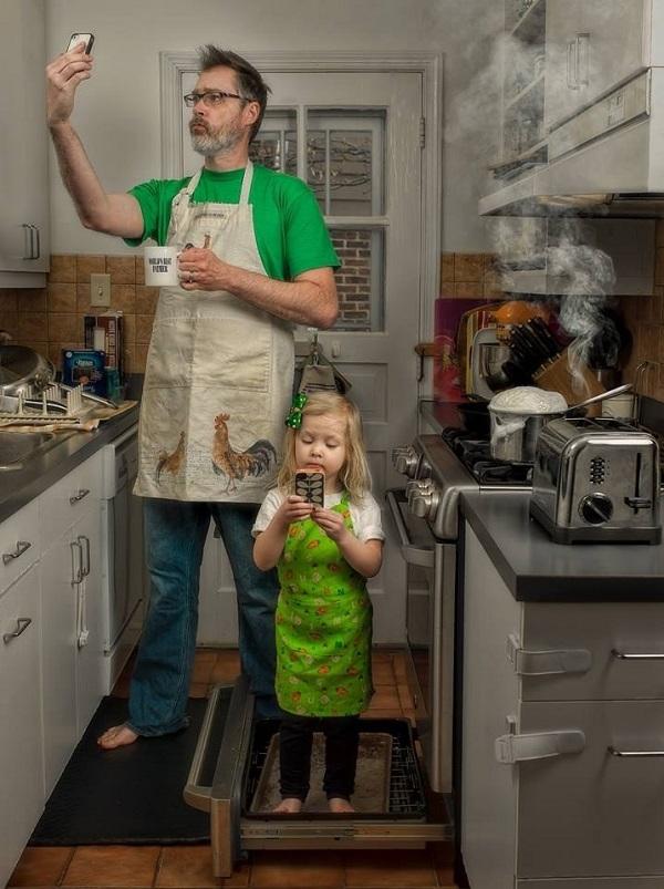 Những bức ảnh cha và con gái nhỏ cực đáng yêu 11