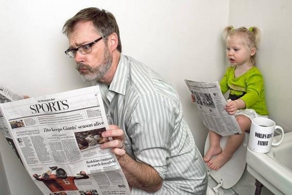 Những bức ảnh cha và con gái nhỏ cực đáng yêu 13