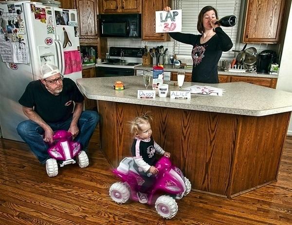 Những bức ảnh cha và con gái nhỏ cực đáng yêu 22