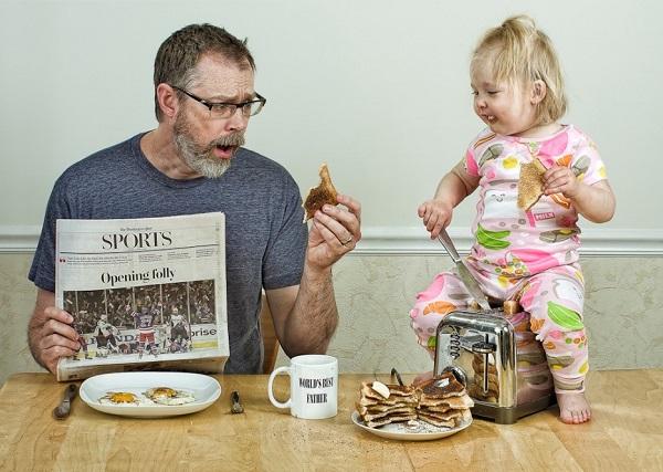 Những bức ảnh cha và con gái nhỏ cực đáng yêu 21